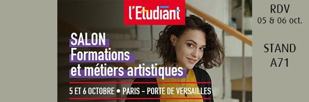 Emc au salon des formations artiques l 39 etudaint emc for Salon formation artistique